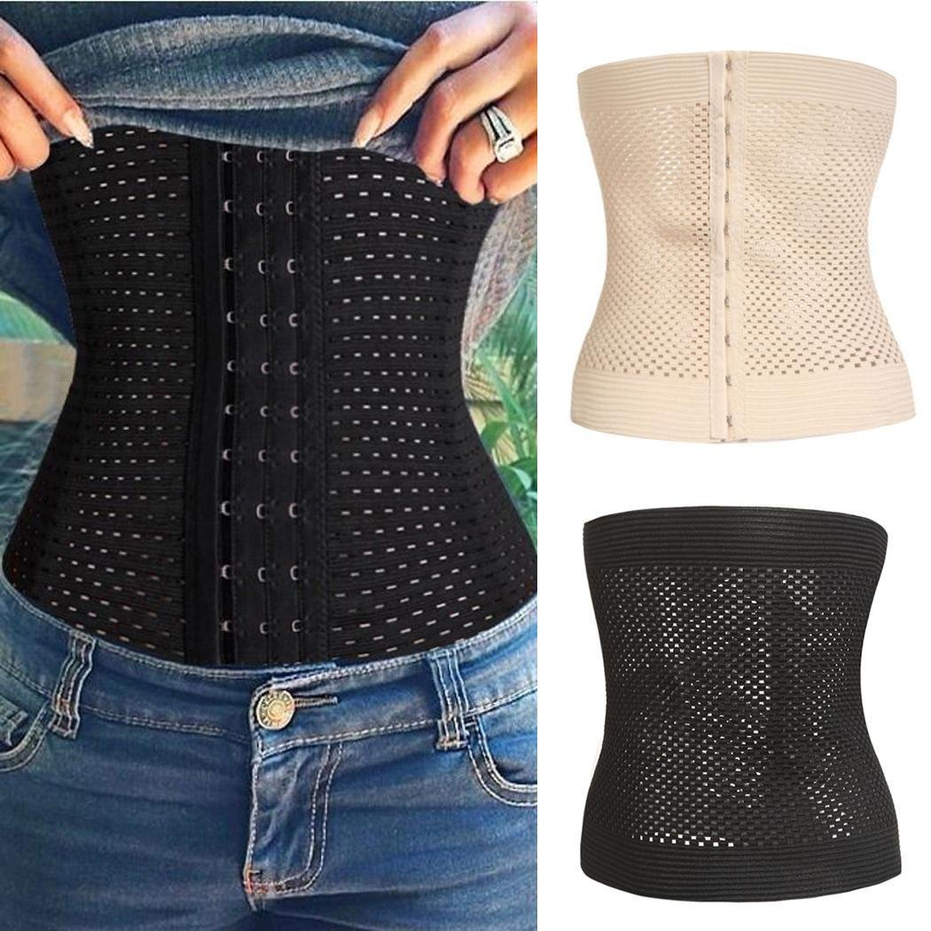 Cindere New Fashion Women Casual Corset Waist Training Shaper Body Shapewear Underbust Belt Jumpsuits /& Rompers