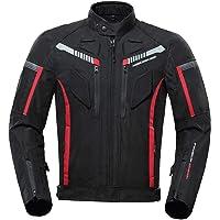 Jaqueta masculina de motociclista Homyl Armored, impermeável, para todos os climas, equipamento de proteção, 600D, para…