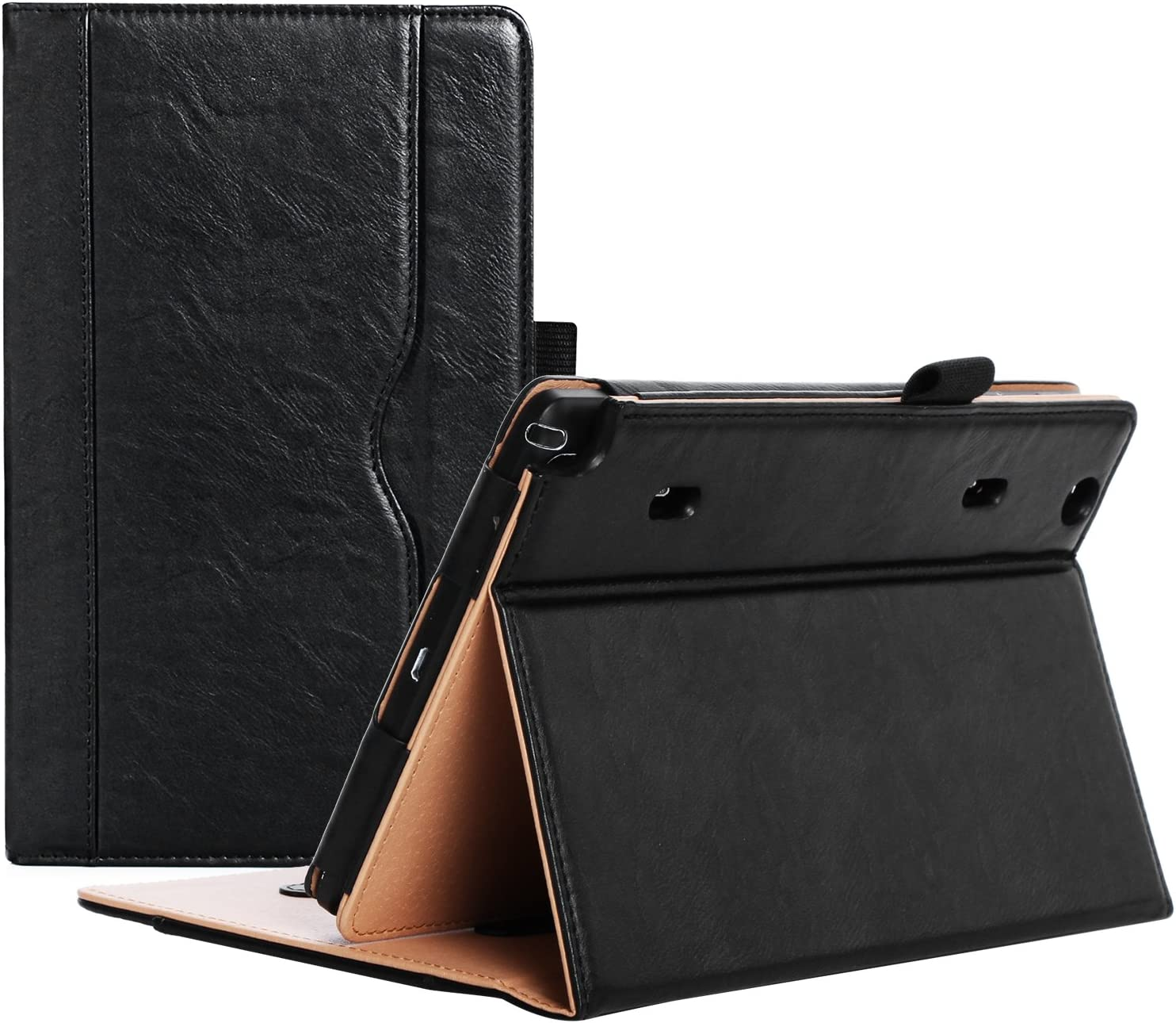 ProCase Verizon LG G Pad X8.3 Case (Verizon 4G LTE LG GPad VK815) - Standing Cover Folio Case for for LG G Pad X8.3 (LG-VK815), with Multiple Viewing Angles, Document Card Pocket (Black)