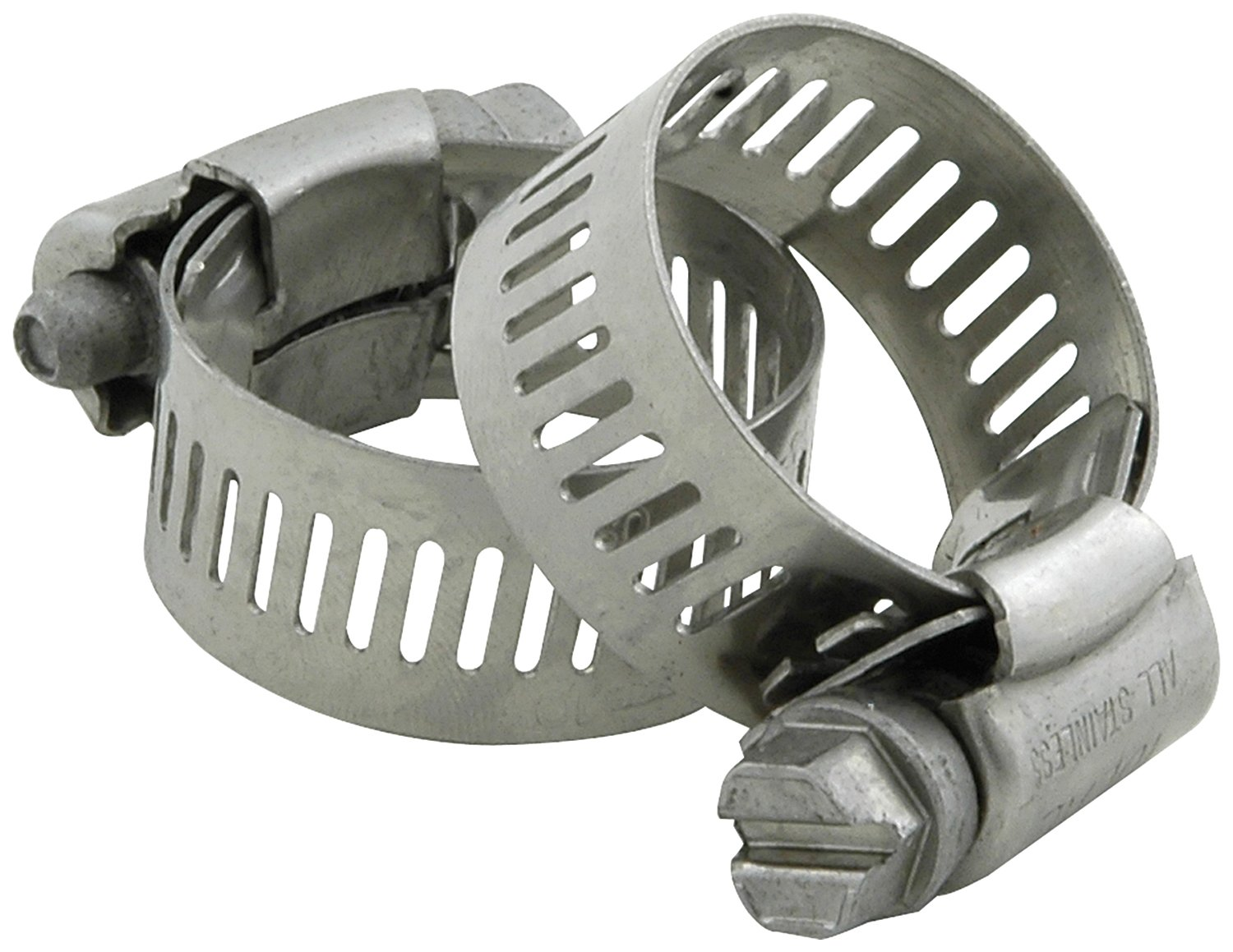 Allstar Performance ALL18338 2-1/2' OD Stainless Steel Hose Clamp - Pair