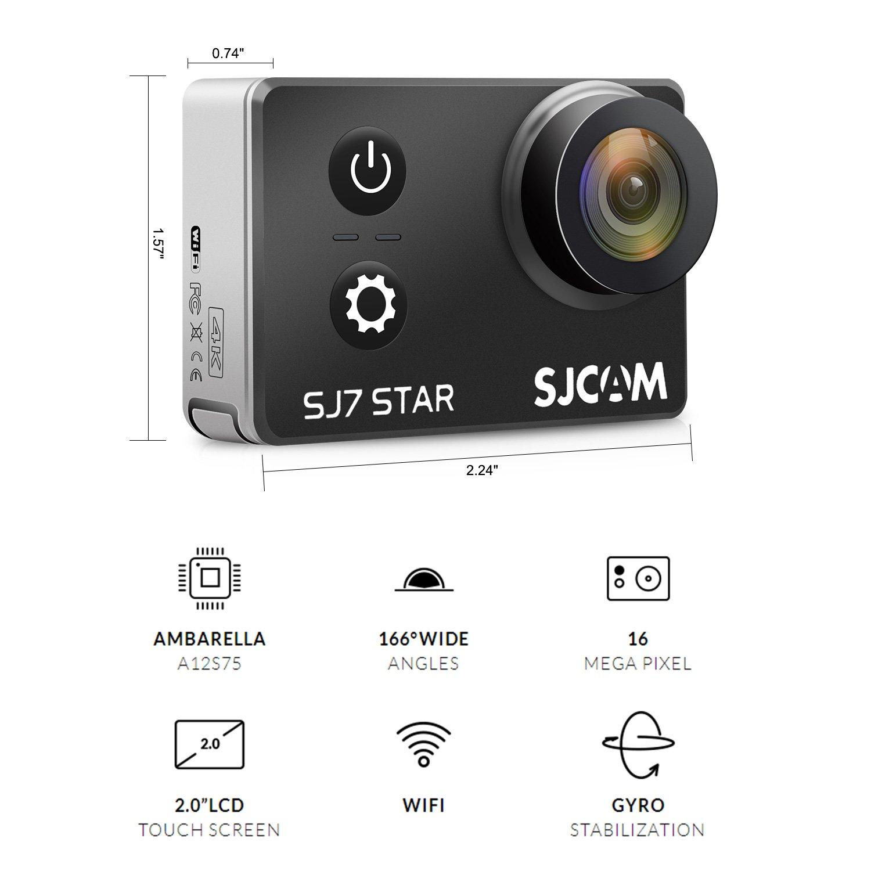 Original Sjcam Sj7 Stern Wifi 4 K Gyro Touch Ambarella A12s75 30 M Wasserdichte Fernbedienung Sport Action Kamera Mini Dvr Sport & Action-videokameras Sport & Action-videokamera