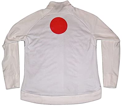 74bbfd4db2 Nike N12 Country Japan Men s Track Jacket 466404 Olympics Rio White RED  Flag ...