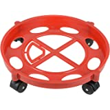 Capital Gas Cylinder Trolley With Wheels|Gas Trolly|Lpg Cylinder Stand,Color May Vary