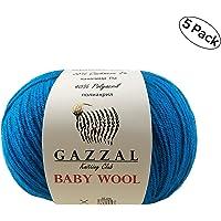Spinrite 102019-19316 10201919316 Sugars Cream Yarn Ombres Beach Ball Blue Super Size