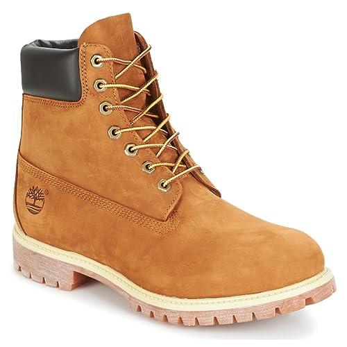 Timberland 6 In Premium Waterproof (Wide Fit), Botines para Hombre: Amazon.es: Zapatos y complementos