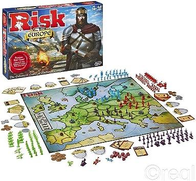 Hasbro HASB7409 Risk Europe Juego de Tablero: Amazon.es ...