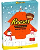 Reeses advent calendar USA American chocolate peanut butter Christmas xmas
