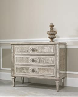 High Quality Hooker Furniture Sutherland Three Drawer Antique Mirrored Chest