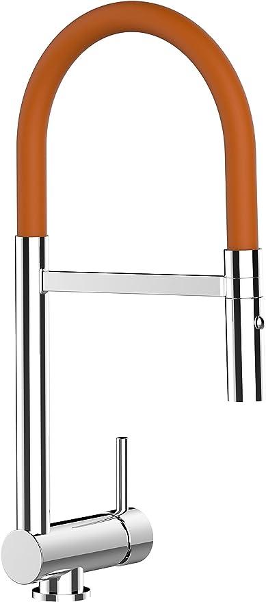 M/élangeur /évier robinet cuisine rabattable 6cm bec pivotant //// robinet sous fen/être //// Chrom/é