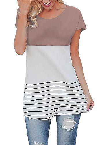 Misschicy - Camisas - Casual - Manga corta - para mujer