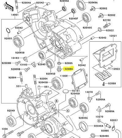Amazon Com Kawasaki Oem Replacement Oil Drain Plug 92066 1437 Most
