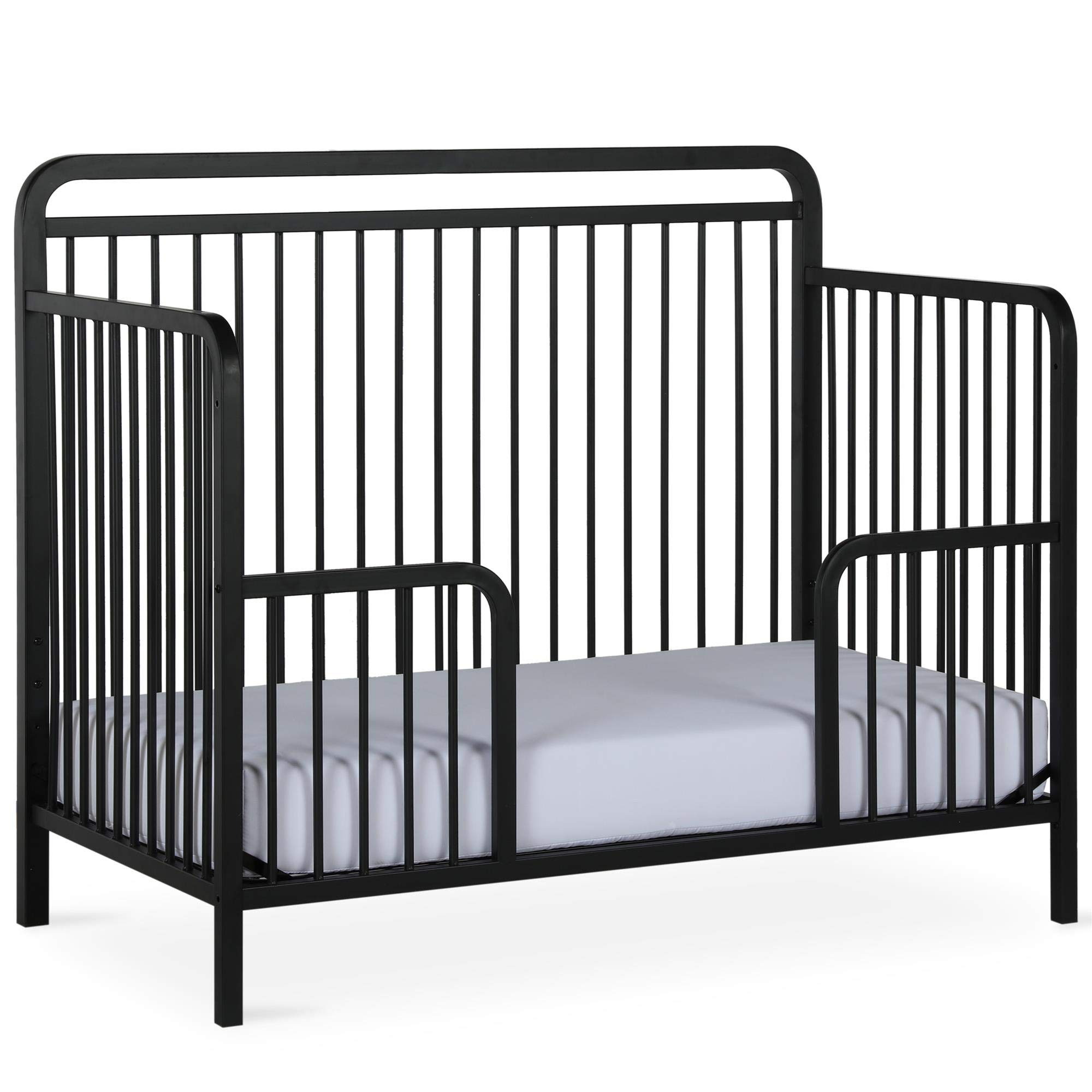 Baby Relax Juniper Metal Toddler Guardrail, Matte Black by Baby Relax
