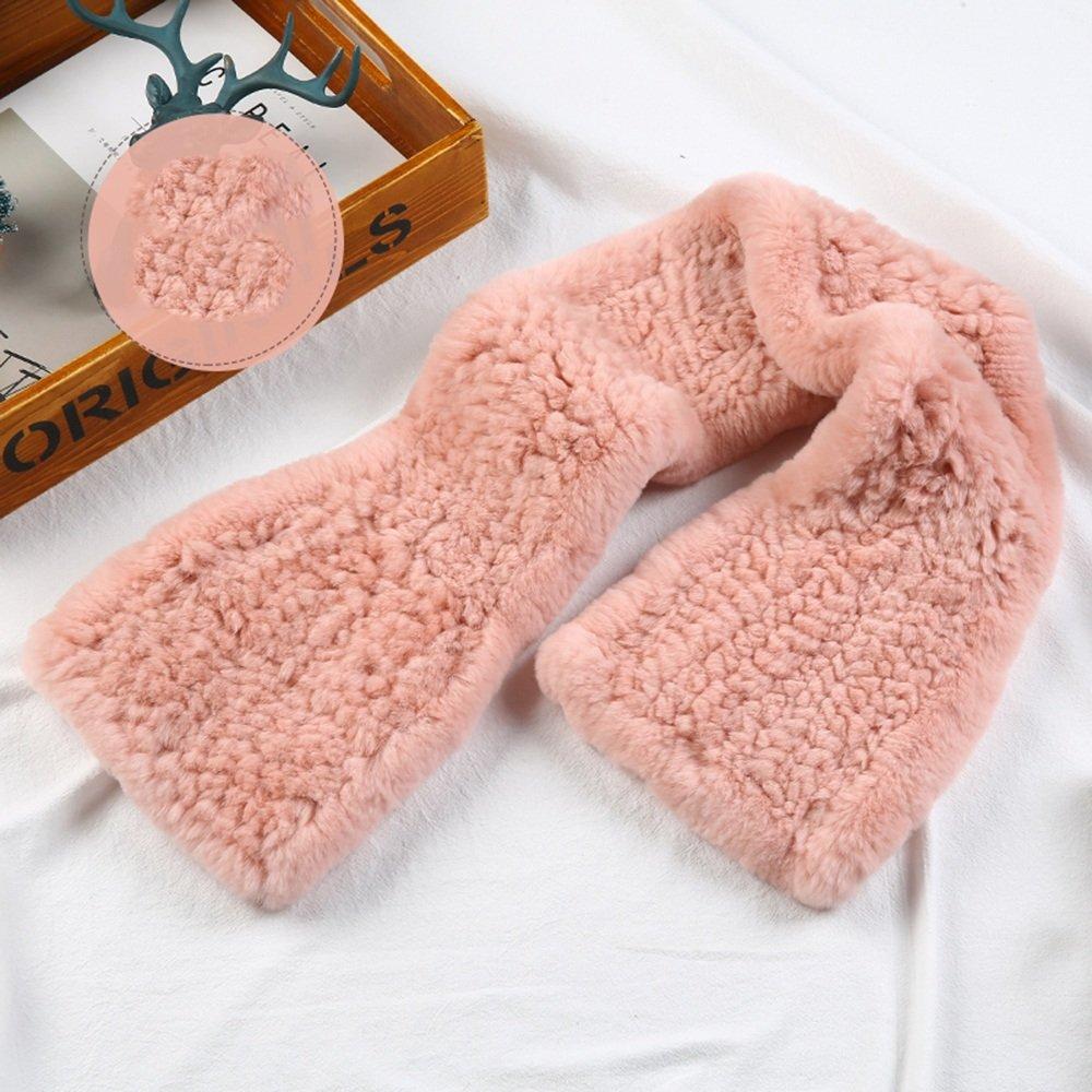 HAIZHEN alla moda alla moda Inverno invernale spessa sciarpa Student Warmers collo autunno e in inverno mantenere caldo multicolore facoltativo Morbido e caldo ( Colore : Orange pink )