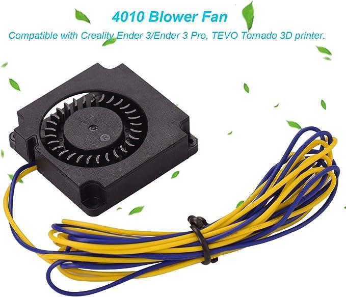 Aibecy 4010 Ventilador Ventilador 40 * 40 * 10 mm 24 V CC ...