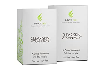 Amazon Com Clear Skin Advanced Vitamin Pack For Acne 60 Day