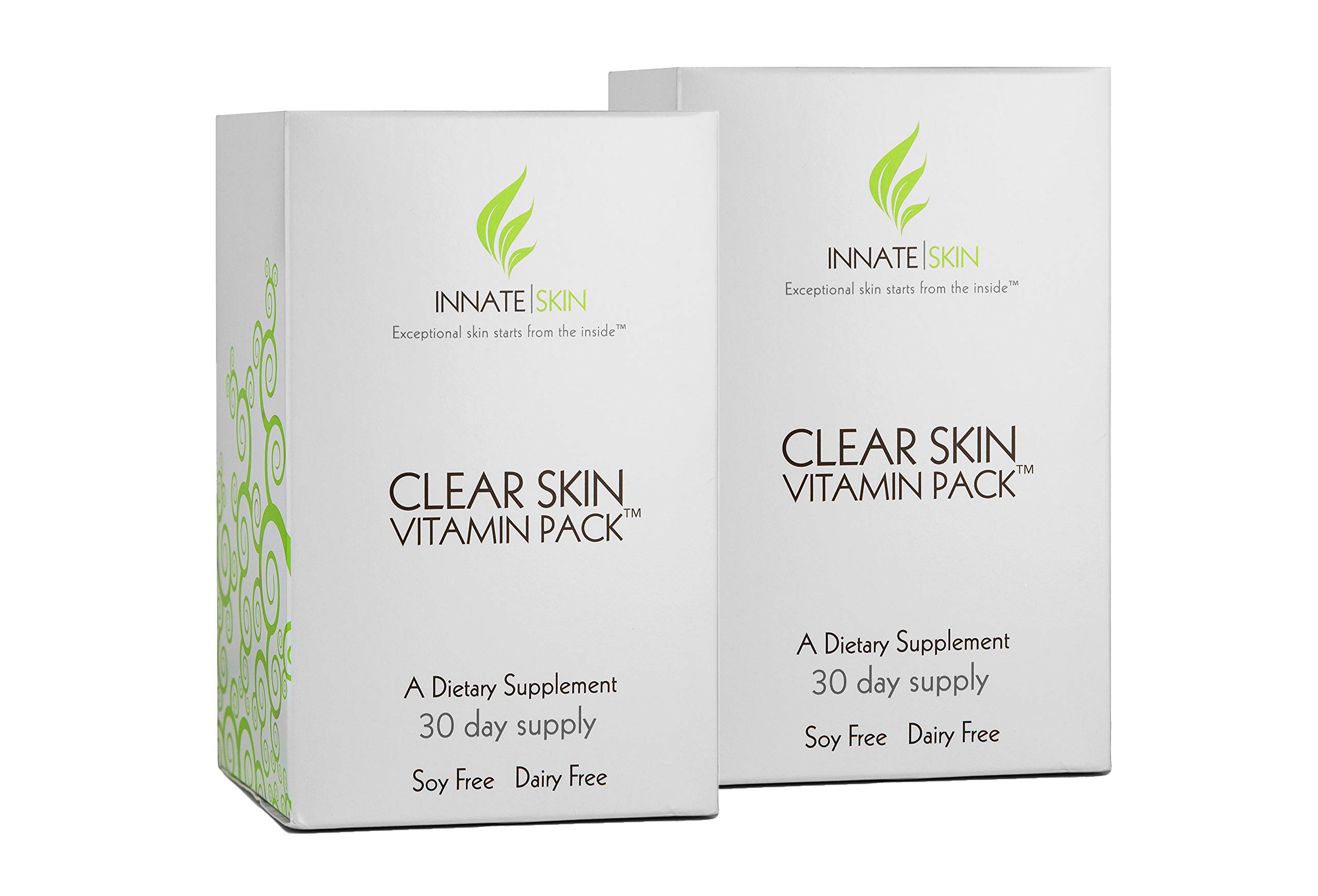 Clear Skin Advanced Vitamin Pack for Acne - 60 Day Supply of Vitamins for Acne
