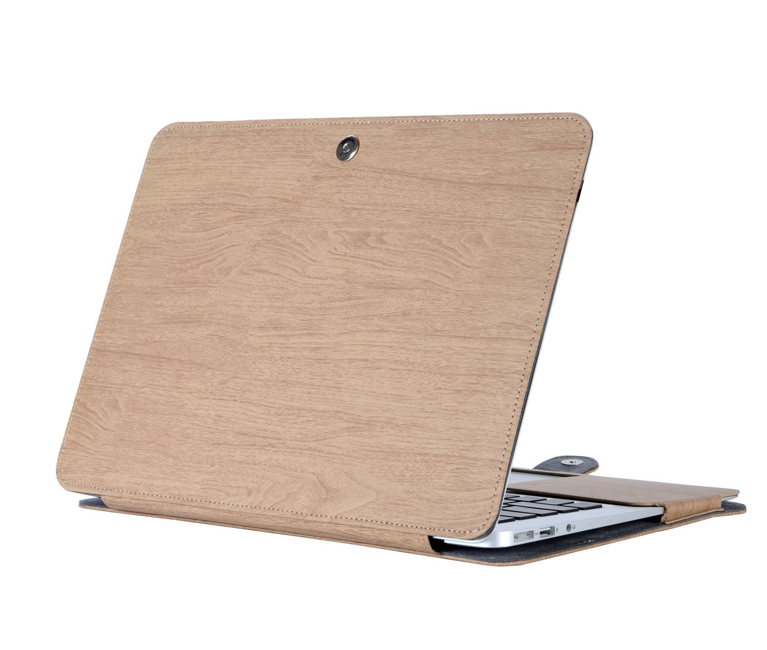 MOSISO PU Leather Case Only Compatible MacBook Air