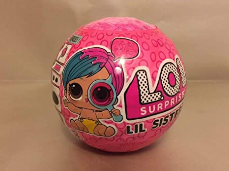 2 Pack LOL Surprise Dolls Series 4 Wave 2 Eye Spy Lil Sisters Ball Figure Gift