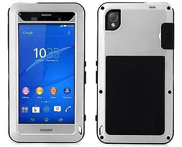 Funda protectora de aluminio para Sony Z5, resistente al agua, a ...