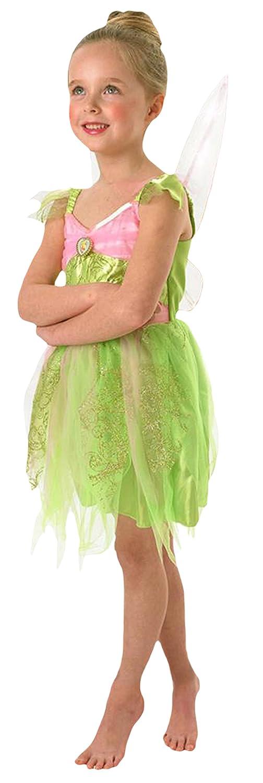Karnevalsbud - Mädchen Karneval Tinkerbell Tinkerbell Tinkerbell Komplett Kostüm, lindgrün, Größe 110-116, 5-6 Jahre 191e6a