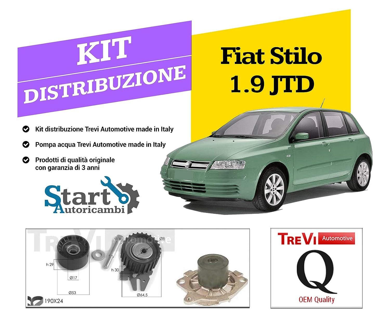 Kit Distribuzione + Pompa Acqua TREVI AUTOMOTIVE codice KD1230STILO1900DSM