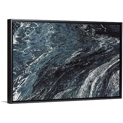Amazon Com Circle Art Group Floating Frame Premium Canvas