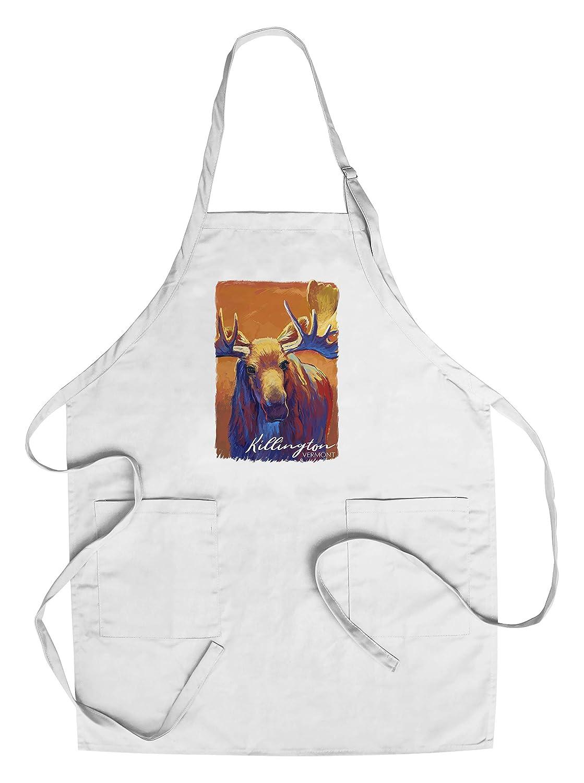 開店記念セール! キルントン LANT-89939-TT バーモント州 - ムース - Apron Bag ビビッド。 Canvas Tote Bag LANT-89939-TT B07JZK2SYX Chef's Apron Chef's Apron, ケイエステイ:6cf417ec --- by.specpricep.ru