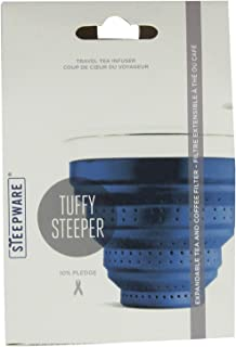 Blue And White Steepware Collapsible Tuffy Steeper For Tea