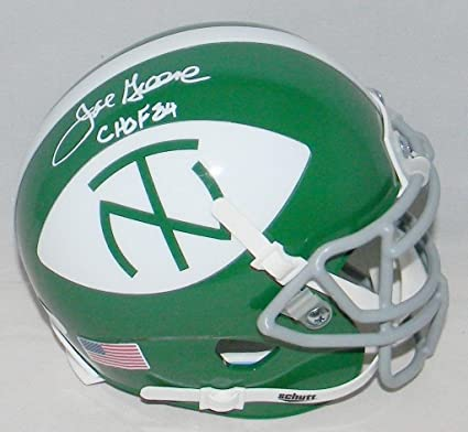 sports shoes ea8e9 78431 Joe Greene Signed Autographed North Texas Mean Green Throwback Mini Helmet  - JSA Certified - Autographed College Mini Helmets