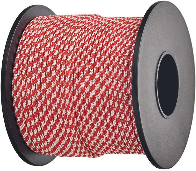 Brotree 2mm Paracord 3 Strand Nylon Parachute Cord