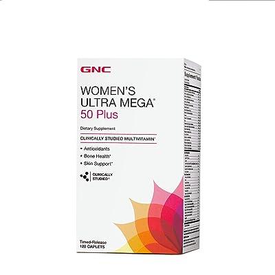 GNC Women's Ultra Mega Multivitamin for Women,