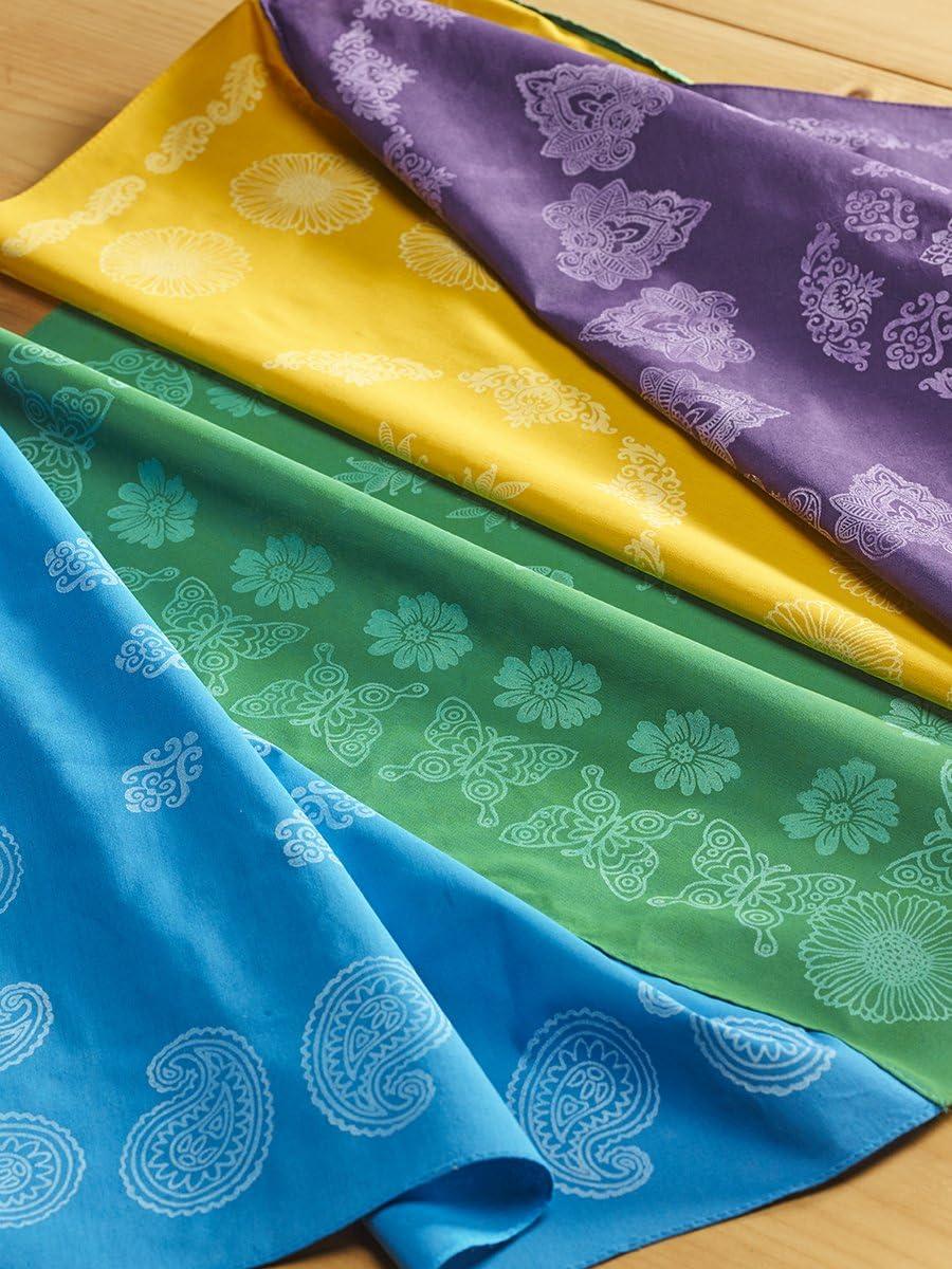 Fabric Creations Block Printing Sponge Cubes 4-Pack 26995