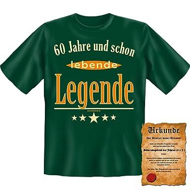 Lustige Sprüche Fun Tshirt 60 Jahre Und Schon Lebende