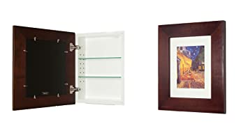 Super 14X18 Espresso Concealed Cabinet Large A Recessed Mirrorless Medicine Cabinet With A Picture Frame Door Download Free Architecture Designs Scobabritishbridgeorg