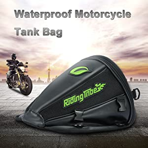Ruck sack /& carry handle Design For Motorcycles /& Motorbikes Autokicker/® Tour Series Tank Bag luggage