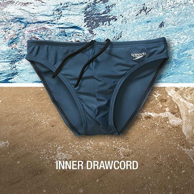 "Always Authentic. $10 Off MSRP! Men/'s Classic Striped 1/"" Solar SPEEDO Swimwear"