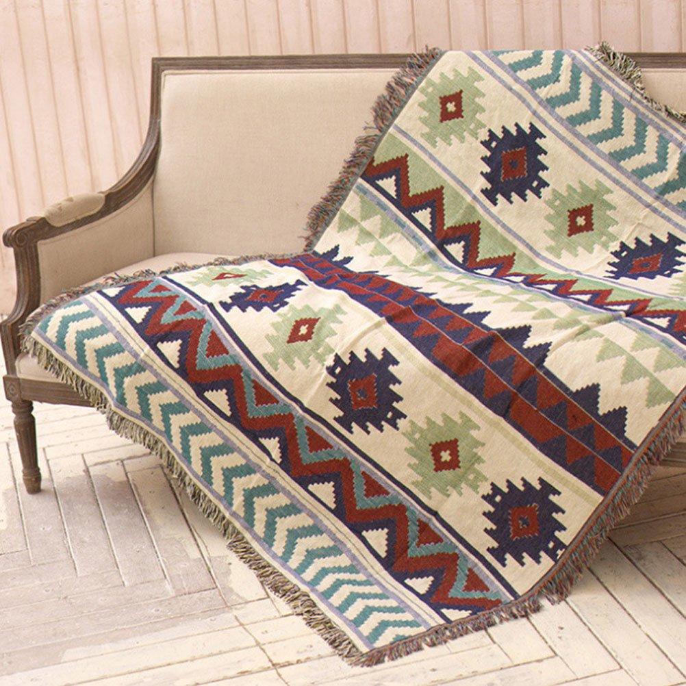 BIN Bedsure Faux Puro Cotone Gettare Coperta 130  160 160  220 160  260 160  300 Rustico Home Decor Biancheria da Letto,160  300
