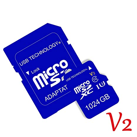 Tarjeta de Memoria Micro SD 1024 GB / 1024 Go (1 to: Amazon ...