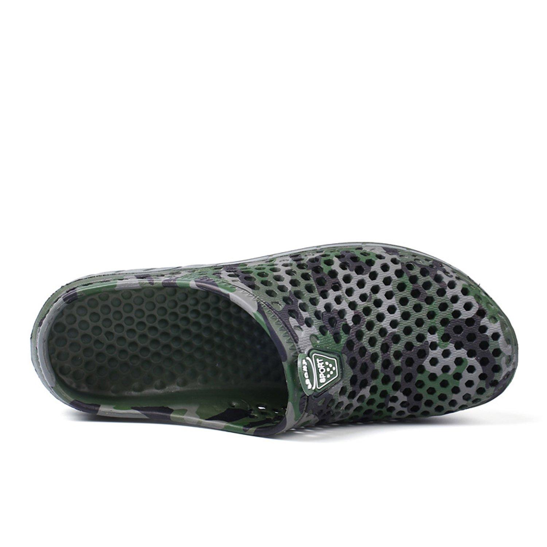 OUYAJI Garden Clog Shoes Beach Footwear Water bash Womens Summer Slippers