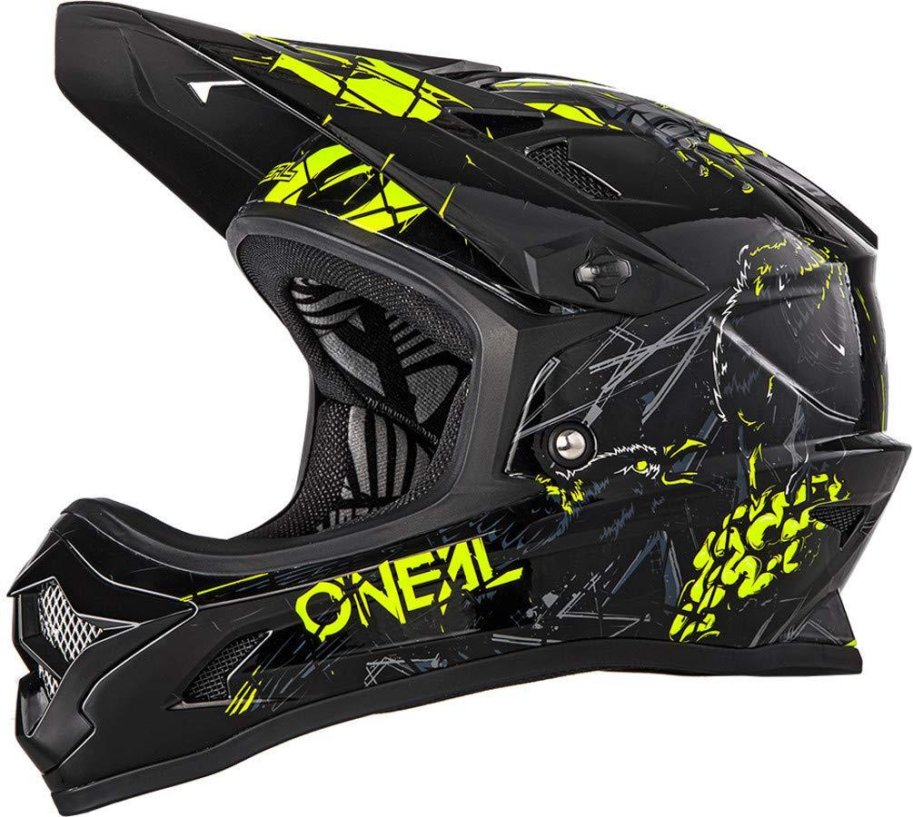 O/'Neal Backflip RL2 Zombie Schwarz Fahrrad Helm Downhill MTB Mountain Bike FR DH