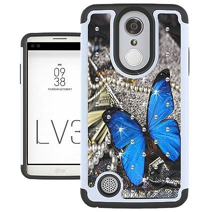 Amazon.com: LG Aristo carcasa, Lg Phoenix 3, Funda LG K8 ...