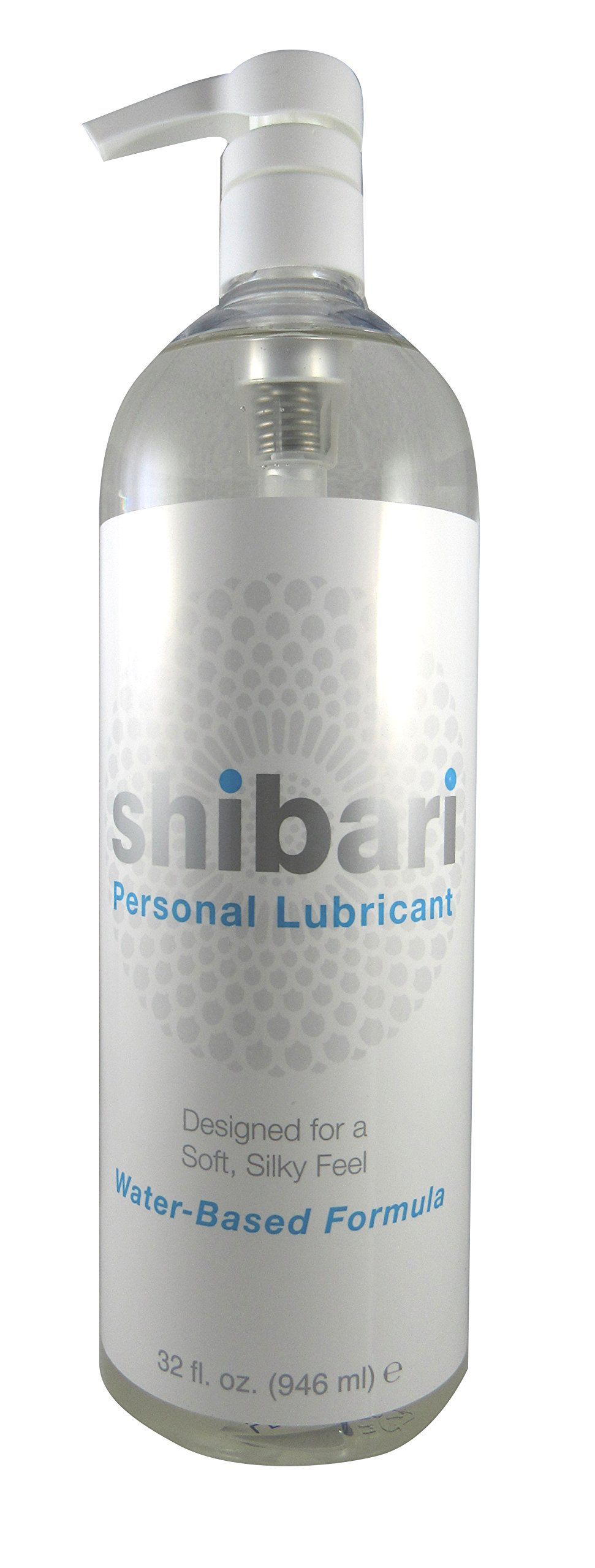 Shibari Water Based Intimate Lubricant, 32oz with Pump