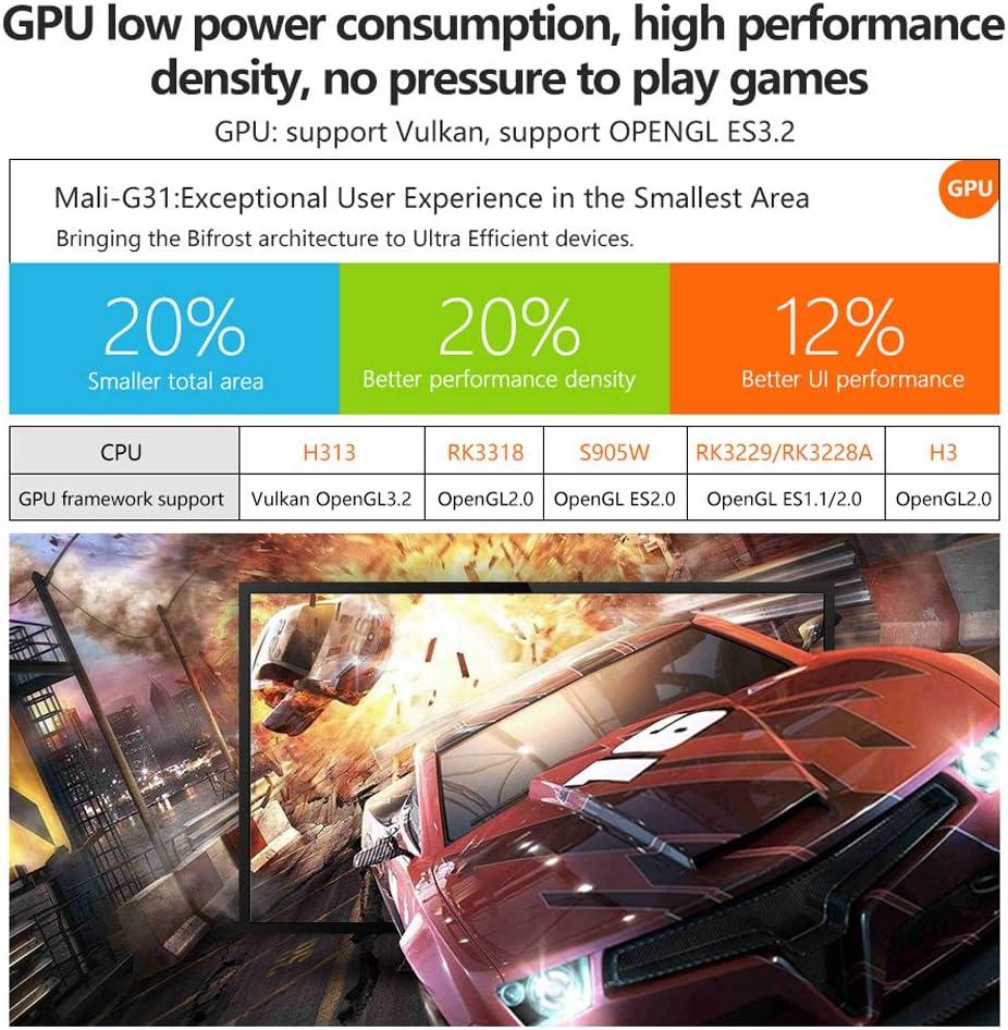 HDMI Smart TV Box by Mikario Android TV Box X96Q Android 10.0 RAM 2G+16G ROM TV Box X96Q Allwinner H313 Quad-Core Arm Cortex A53 2G+16G 4K Ultra HD H.265