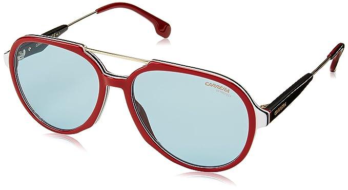 e5025abdd4 Carrera 1012/S Gafas de sol Unisex Adultos, color Rojo, 56 mm ...