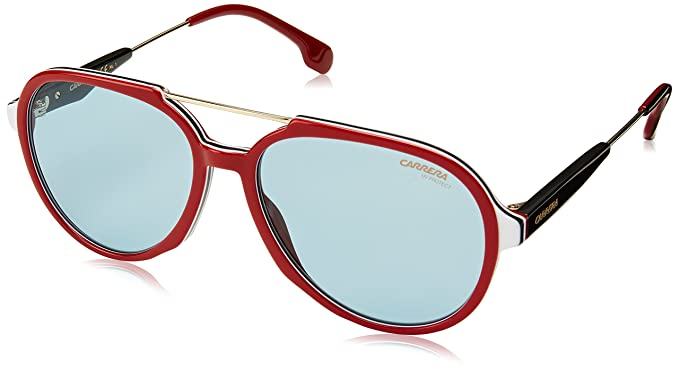 Amazon.com: Carrera 1012/s Aviator Sunglasses Burgundy Gold ...