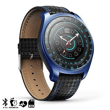 DAM. DMZ042BLBK. Smartwatch V10 con Cámara, Monitor Cardíaco ...