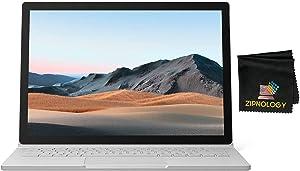Microsoft Surface Book 3 - 13.5inch Multi Touch Laptop - Intel Core i7 - 1TB SSD - 32GB - GeForce GTX 1650 4GB GPU - Windows 10 Home + Zipnology Screen Cleaning Cloth Bundle - New