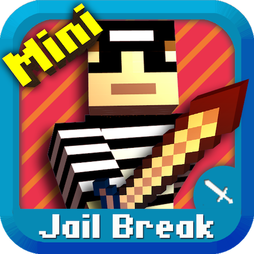 - Cops N Robbers (Jail Break) - Mine Mini Game With Survival Multiplayer