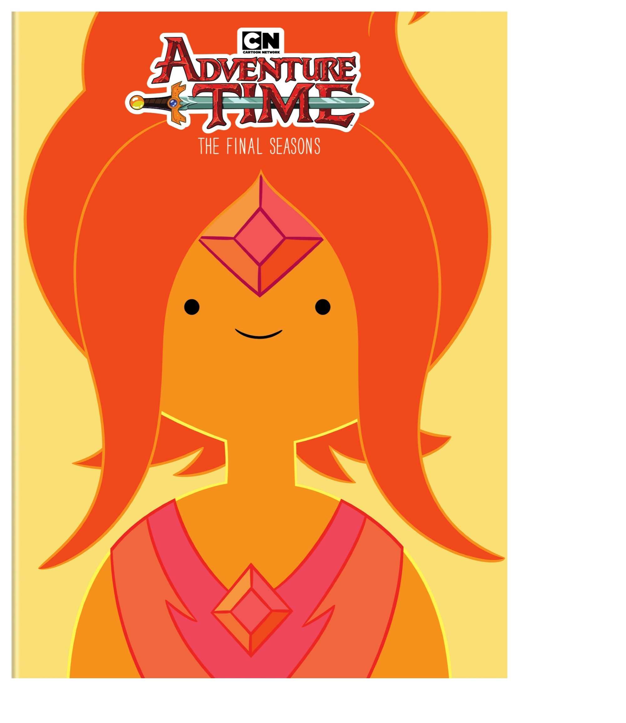 DVD : Adventure Time: The Final Seasons (Boxed Set, Dolby, AC-3, Slipsleeve Packaging, 4PC)