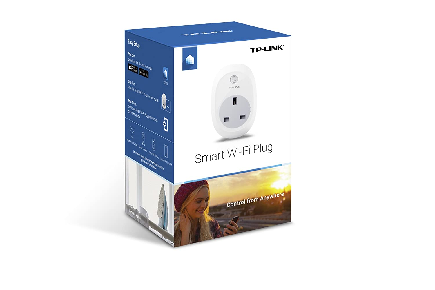 TP-Link Smart Wi-Fi Plug can be used by disabled children to switch any device on or off using voice control